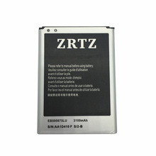 ZRTZ 3100mAh EB595675LU Battery for Samsung Galaxy Note 2 N7100 E250S E250L E250K Note 2 LTE N7105 N7102 T889 L900 Verizon i605