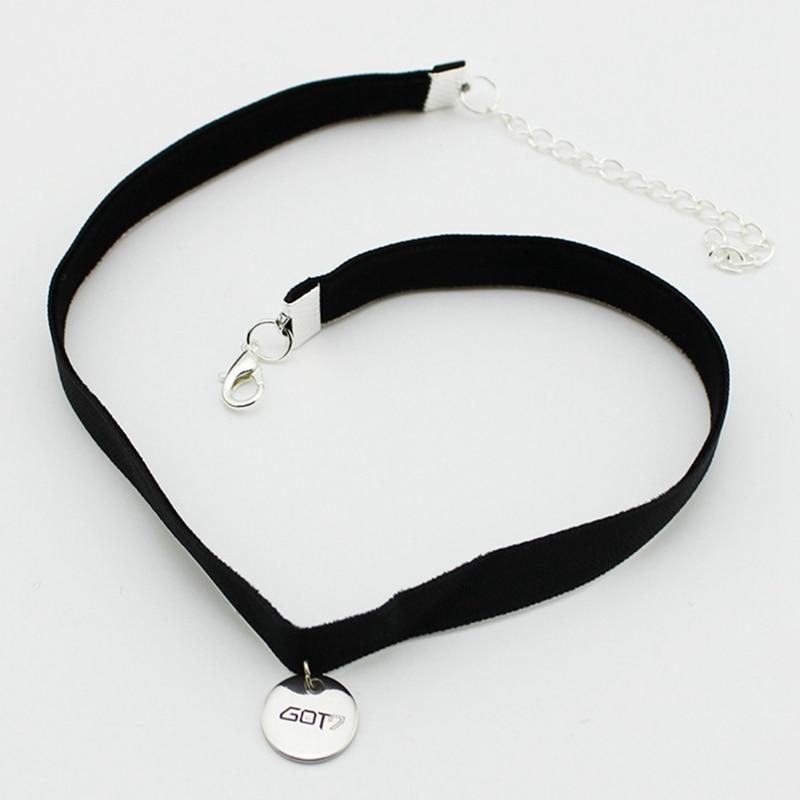 Korea Punk Leather Collar Chain Choker Necklace Flower Crystal Pendant Jewelry