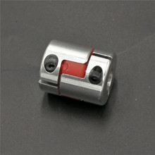 Shaft Size= 8mm to 10mm Jaw Flexible Coupling Plum Coupler Diameter=25mm Length=30mm 8mm To 10mm 5/6/6.35/8/9.5/10/12mm