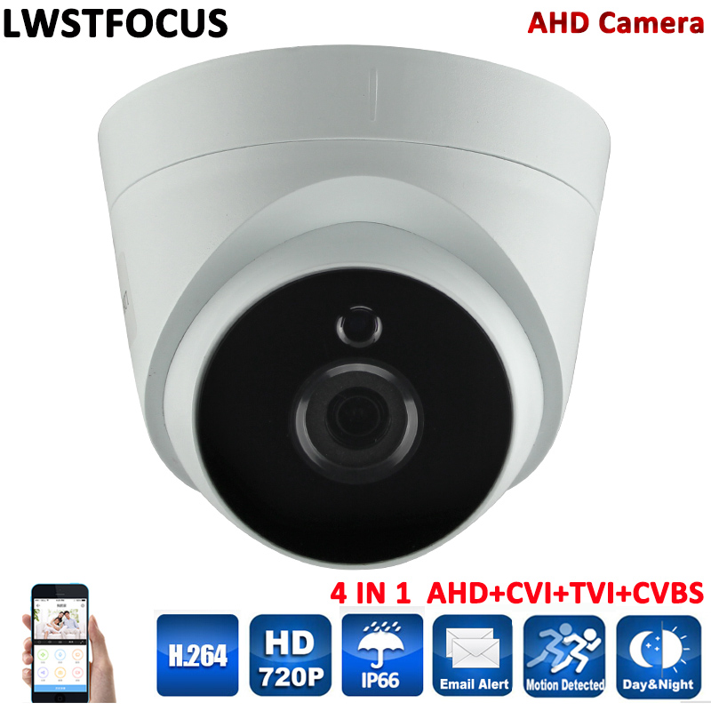LWSTFOCUS New Array Led AHD Camera 720P CCTV Security AHDM AHD-M Camera HD 1MP IR-Cut Nightvision Indoor Camera 1080P 2MP LENS<br>