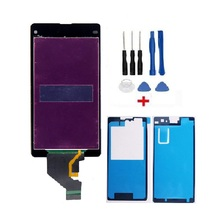 Coreprime Replacment For Sony Z1 Mini Compact D5503 M51W LCD Display + Touch Screen Digitizer Assembly+Tools+Tapes