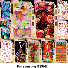 TAOYUNXI Phone Cover Case For Samsung Galaxy Star Advance Star 2 Plus SM-G350E G350E 4.3 inch Case TPU Pastic Flower Rose Cover(China)