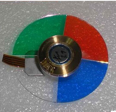 100% new for toshiba T98 projector color wheel 4 segment 44mm<br>