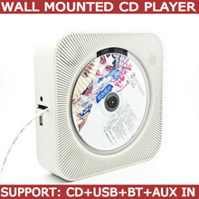in wall mounted cd player build in blue tooth, USB and AUX IN(China)