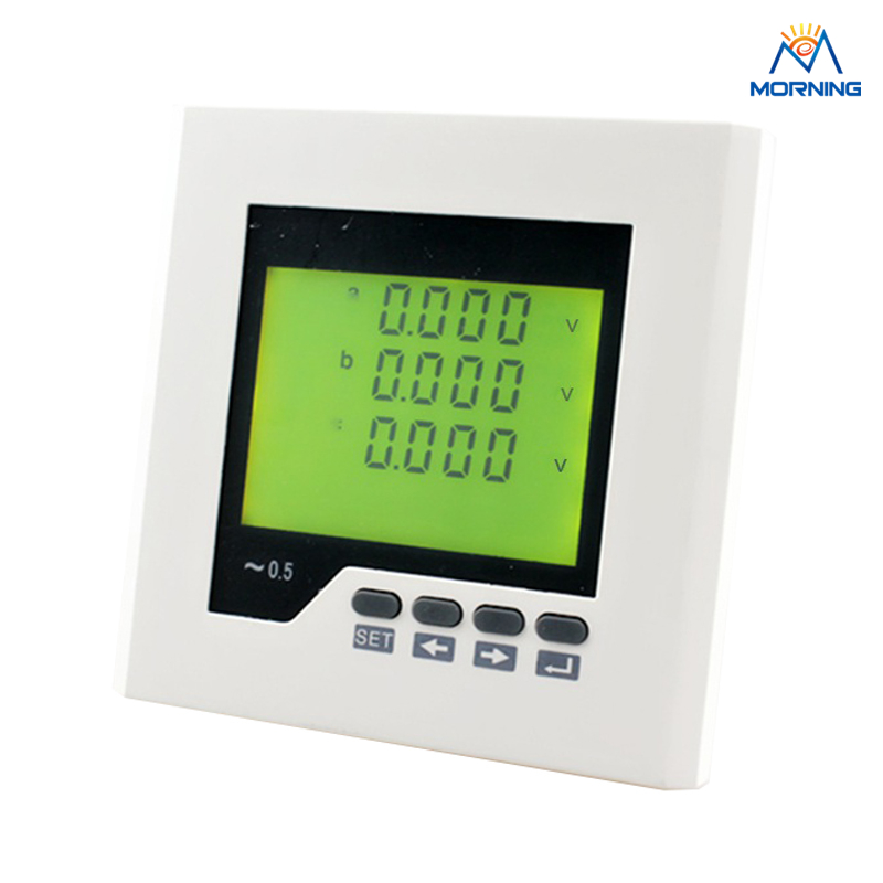 3AV2Y frame size 120*120mm three phase voltage meter with LCD display<br><br>Aliexpress