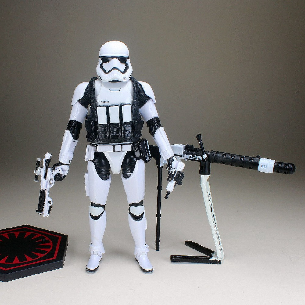2 Stand Base /& 20 Guns FOR 3.75/'/' Star Wars Stormtroops Clone Trooper Jedi Toys