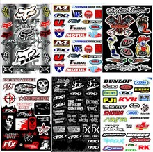 big size motorbike sticker for yamaha YZ YZF badge motorcycle decals unviersal PVC waterproof car style racing moto motocross(China)