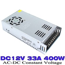 Single Output Switch Power Supply DC12V for LED Strip Light Display 12V 33A 400W block Supply Transformer AC110V 220V to DC UPS