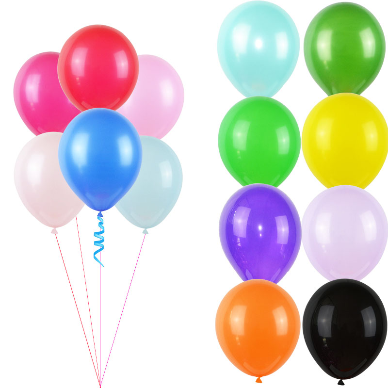 10/20/50P 12inch Matte Latex Balloon 16 Color Air Balls Inflatable For Wedding Party Decor Float Balloon Kid Toys Baby Shower 8z