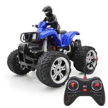 Kids Toy RC Motorcycle Remote Control Motorcycle Sandy Beach Cross Country 360 Degree Rotation Dynamic Motorcycles(China)