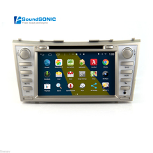 Android 4.4.4 For Toyota Camry 2007-2011 Auto Car Radio Stereo DVD GPS Navigation Sat Navi Multimedia System(China)