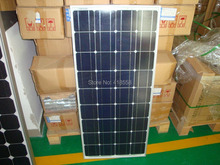mono and poly solar panel manufacturer in china with lower price 100W solar panel a grade solar cell(China)