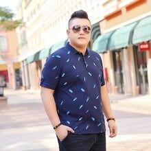 e570651fd7 H 2018 Preto Azul Camisa PÓLO de Algodão de Moda do Homem Camisa Polo  Impressão Verão Curto-luva Casual camisas Homem Plus.