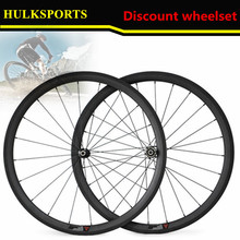 Free Shipping Hot Discount New Arrival Carbon Clincher Wheelset 38mm Matte Road Bike Wheels(China)