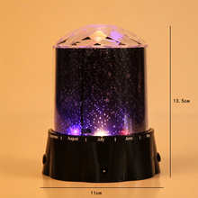 Romantic projector night light Stars projection lamp LED stage Light LED stage Light Projective Lamp  laser light novel