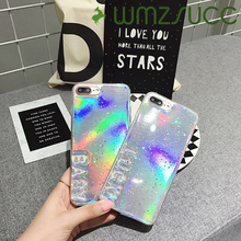 WMZSUCC Cute Luxury Lucky Baby TPU Phone Case For IPhone 6 6s plus 7 7plus 8 plus Soft Cases Back Cover Skin(China)
