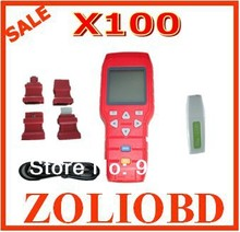 [5% discount] DHL free shipping Original X100 key programmer x-100+ auto key  X100 key pro x-100 on hot sale with best service