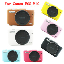Buy 11 PCS Wholesale Soft Camera bag Silicone Case Canon EOS M10 EOSM10 EOSM 10 Camera Rubber Protector Body Cover Case Skin for $58.69 in AliExpress store