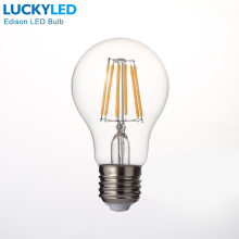 Free shipping Retro LED Filament Light lamp E27 2W 4W 6W 8W 110V / 220V G45 A60 Clear Glass shell vintage edison led bulb(China)