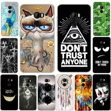 "Phone Cover for HTC One X10 Case 5.5"" Soft TPU Silicone Cover Joker Cool Animal Cartoon Phone Case For HTC One X 10 / HTC E66"