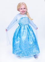 SAMGAMI BABY Promotion hot sale baby girl`s long sleeve dress blue color children lovely long dress princess dresses