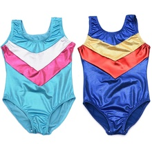 Summer Cute Dancing Athletic Leotard Girl Dance Clothing Sleeveless Dance Gymnastics Leotard 3-12Y 1pc(China)