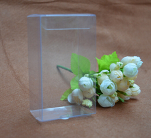 1*6*11cm Clear PVC boxes Packaging small plastic box storage event&party supplies 30PCS