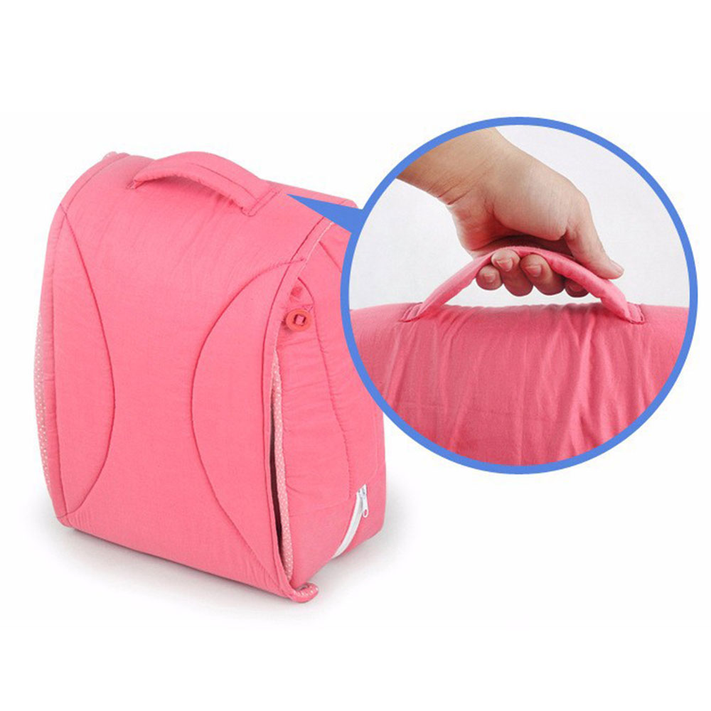 Multifunctional Baby Crib Convenient Foldable Maternity Supply Travel Bed Comfortable Cotton<br>