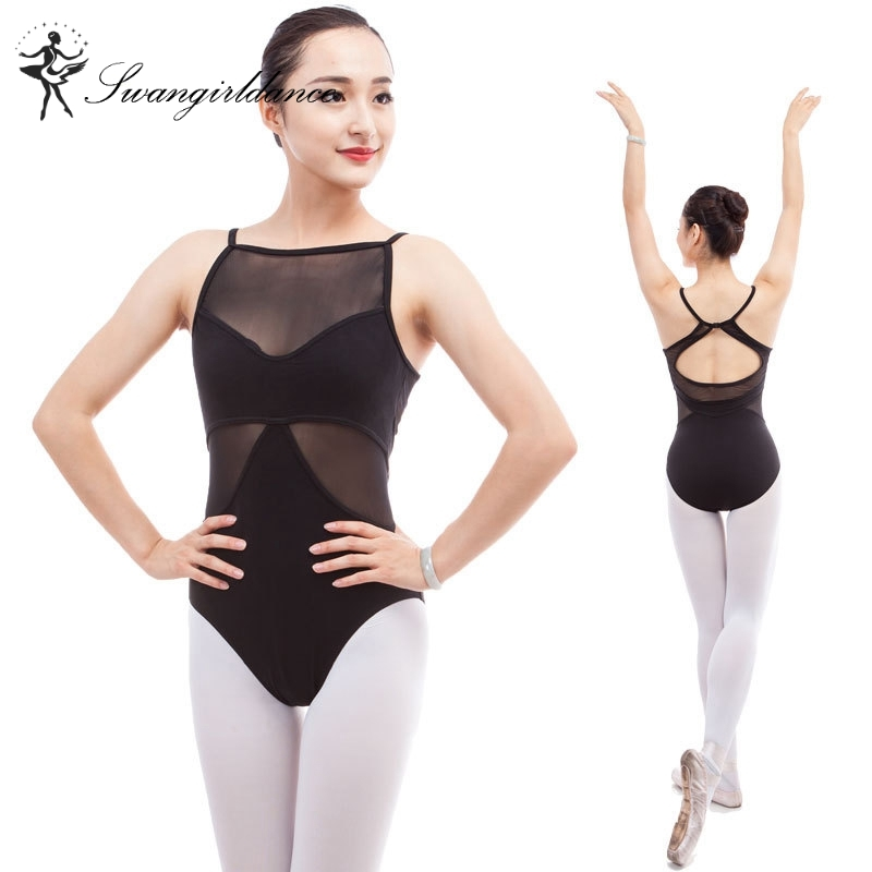 women camisole black sexy ballet Leotards for dance costume ballet clothes for girls gymnastics leotards ballerina clothesCS0300