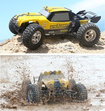 RC Car HBX 12891 Thruster 40km/h 1:12 2.4GHz 4CH Drift Remote Control Car Desert Off-road High Speed(China)