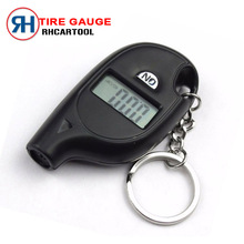 Free Shipping New Digital Auto Wheel mini Tire Air Pressure Gauge Meter Test Tyre Tester Vehicle Motorcycle Car 5-100 PSI BAR