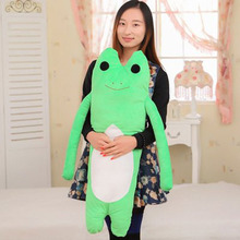80cm large size Creative Long hands Frogs Pillow Monkey plush Toys Boyfriend Pillow Valentines Gift stuffed plush doll(China)