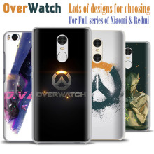 Game Overwatch D.VA REAPER MERCY MEI Phone cases shell cover for Xiaomi Redmi 3S 3 Note 2 3 4 Pro Mi4 Mi5 Mi4C Mi4S Mi5S Plus