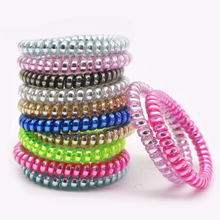 Buy 20Pcs Hair Accessories Women Hair Ring Rope Traceless Girls Gum Springs Elastic Hairbands Headdress Hair Ties Rubber Bands for $3.65 in AliExpress store