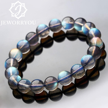 Buy Natural Labradorite Moonstone Bracelets Women 6-8mm Bracelets Girls Natural Stone Round Beads Bracelet Women Jewelry for $40.79 in AliExpress store