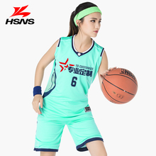 High-quality Girls Basketball Jersey Uniform Shirt and Short Pants Plus Size S-3XL Quick-drying Breathable Team Training Custom