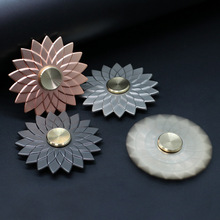 Buy Noble Romantic Flowers Fidget Spinner Hand Metal Toys Handspinner Relief Anti Stress Figet Spiner Spinners Gift Children for $3.42 in AliExpress store
