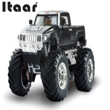 SUV Electric RC Vibration Hummer Truck SUV Radio Control Car Toy Led light Hummers Trucks b c Shipping