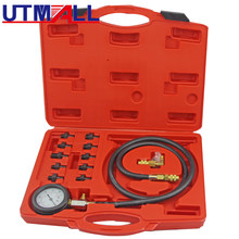 UTOOL Full System Automotive Engine Oil Pressure Test Kit Tester Car Garage Tool 0-140PSI Low Oil Warning Devices(China)