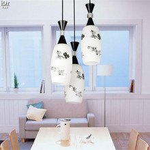 Three modern minimalist restaurant dining table lighting fixtures Diner support mixed batch Pendant Lights  Rmy-0232