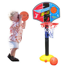 BOHS Kids Children Miniature Basketball Hoops Set Stands Adjujstable with Inflator Toys for Boys , 115cm , Outdoor Fun & Sports(China)