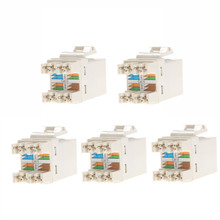 5PCS RJ45 CAT6 Module Network Cable Plugs Punch Down Ethernet Jack CAT5 CAT5e CAT6 Network Tool DIY Part Electrical Plug Adaptor