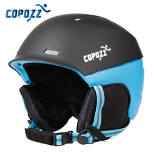 Copozz Brand Professional Ski Helmet Adult Ski Helmet Man Women Skating Skateboard Snowboard Helmet Snow Sports Helmets(China)