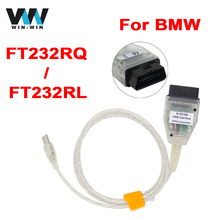 For BMW INPA K+CAN Switch with FT232RL/FT232RQ Chip OBD OBD2 Diagnostic Cable K+ DCAN USB Interface Coder Reader Scanner Inpa