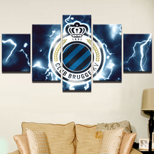 PENGDA Canvas Wall Art Posters Frame Prints Modular Painting 5 Panel Sports Football Pictures Home Decor Drop Shipping