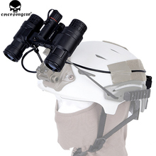Tactical Helmet Case Battery-Box Nvg Dummy Emersongear PVS-31 Night-Vision Goggle