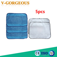 High Quality Microfiber 5-Pack Pro-Clean Mopping Cloths for Braava Floor Mopping Robot irobot Braava Minit 4200 5200 380 380t(China)