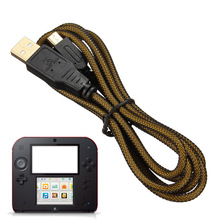 Gold Plating USB Port 1.5M Charging Power Cable For Nintendo For DSi DSiXL DSiLL For 3DS/XL/LL NDSI/NDSILL(China)
