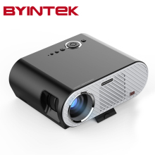 2017 BYINTEK GP90 GP90UP 1280x800 Smart Android Wifi Cinema USB Full HD Video WXGA LED HDMI VGA 1080P Home Theater Projector