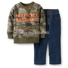 LL2-017,Camo Collection,Baby Boys 3-Piece & 2-Piece & 1-Piece Clothing Sets,Cool ,Original, Super Quality, Free Shipping